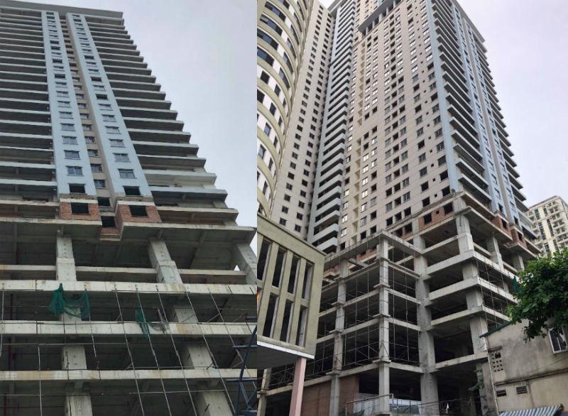 Tháp căn hộ 5 sao, 1 thập kỷ bỏ hoang trên đất vàng Hà Nội-1