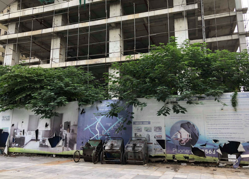 Tháp căn hộ 5 sao, 1 thập kỷ bỏ hoang trên đất vàng Hà Nội-2