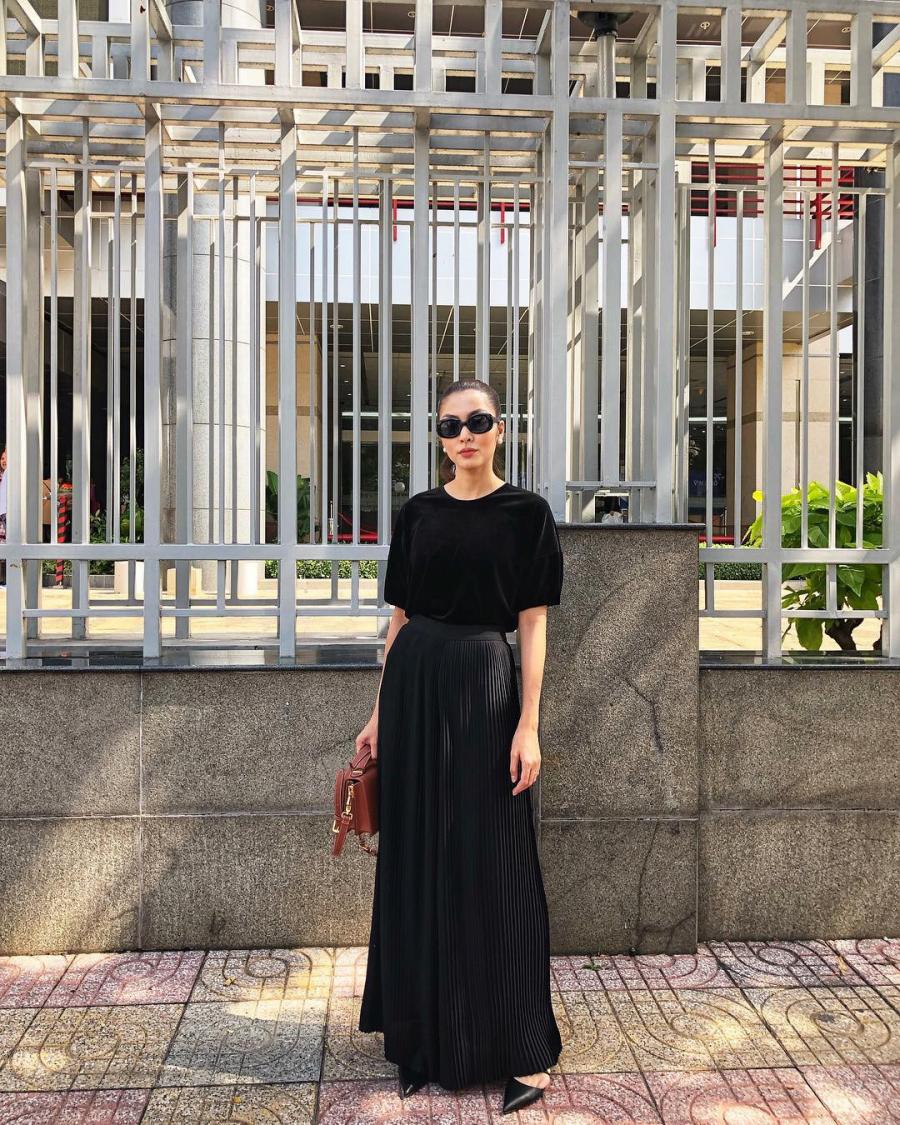 Dàn mỹ nhân Việt sang chảnh và đẹp hơn chỉ nhờ 2 tông màu trang phục cơ bản này-6