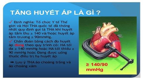 Bệnh tăng huyết áp là gì & ý nghĩa các chỉ số huyết áp