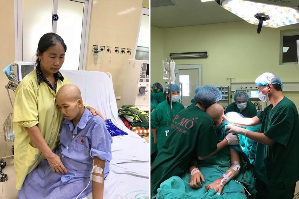 Người mẹ ung thư giai đoạn cuối và giây phút đầy nước mắt khi gặp con trai Bình An-1