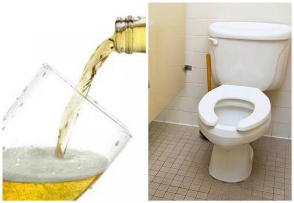 """Mang bia đổ vào nhà vệ sinh, tưởng phí của trời ai ngờ phát hiện tuyệt chiêu"""" bất ngờ-4"""