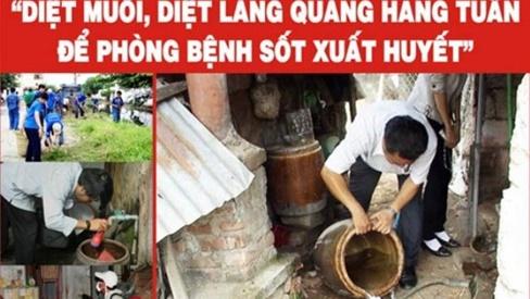 Hà Nội: Gia tăng ca mắc sốt xuất huyết, cần ráo riết vệ sinh môi trường diệt bọ gậy