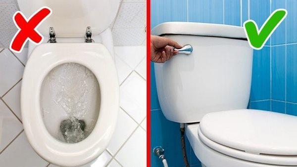 Không đậy nắp bồn cầu khi xả nước, chuyên gia cảnh cáo lỗi sai tai hại ai cũng mắc-1