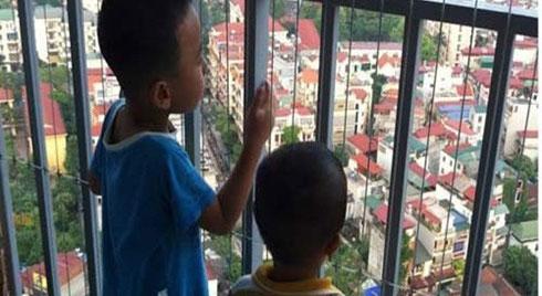 Những lưu ý khi nhà có trẻ sống ở chung cư