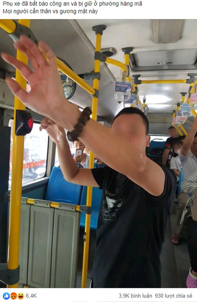 Tự sướng trên xe buýt ngay cạnh bé gái cấp 2, nam thanh niên khiến cộng đồng mạng ngán ngẩm-1