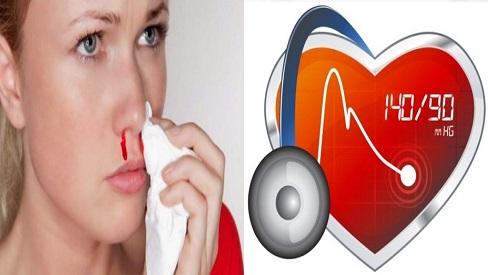 Nguyên nhân khiến huyết áp cao bị chảy máu mũi & cách điều trị