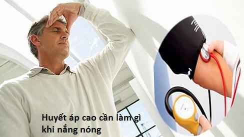 Huyết áp cao cần làm gì trong thời tiết nóng nực?-1