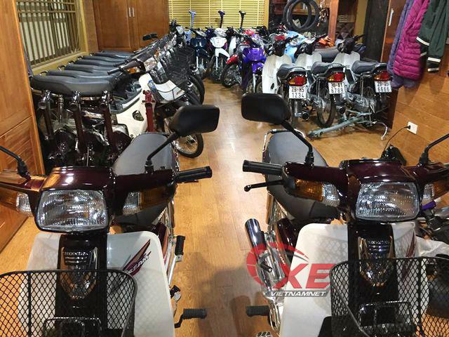 Dân chơi Hà Nội rã Honda Dream Thái 180 triệu bán phụ tùng-6