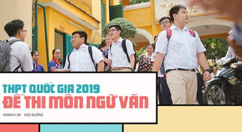 Đề thi THPT quốc gia 2019 môn Ngữ Văn: Hỏi về tác phẩm