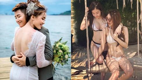 Khi gái đẹp yêu nhau: Hết 'tiếng sét ái tình' giữa 2 hot girl nóng bỏng tới sẵn sàng cho một đám cưới trong mơ