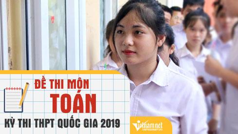 Thí sinh Hà Nội nhận xét sau giờ thi môn Toán