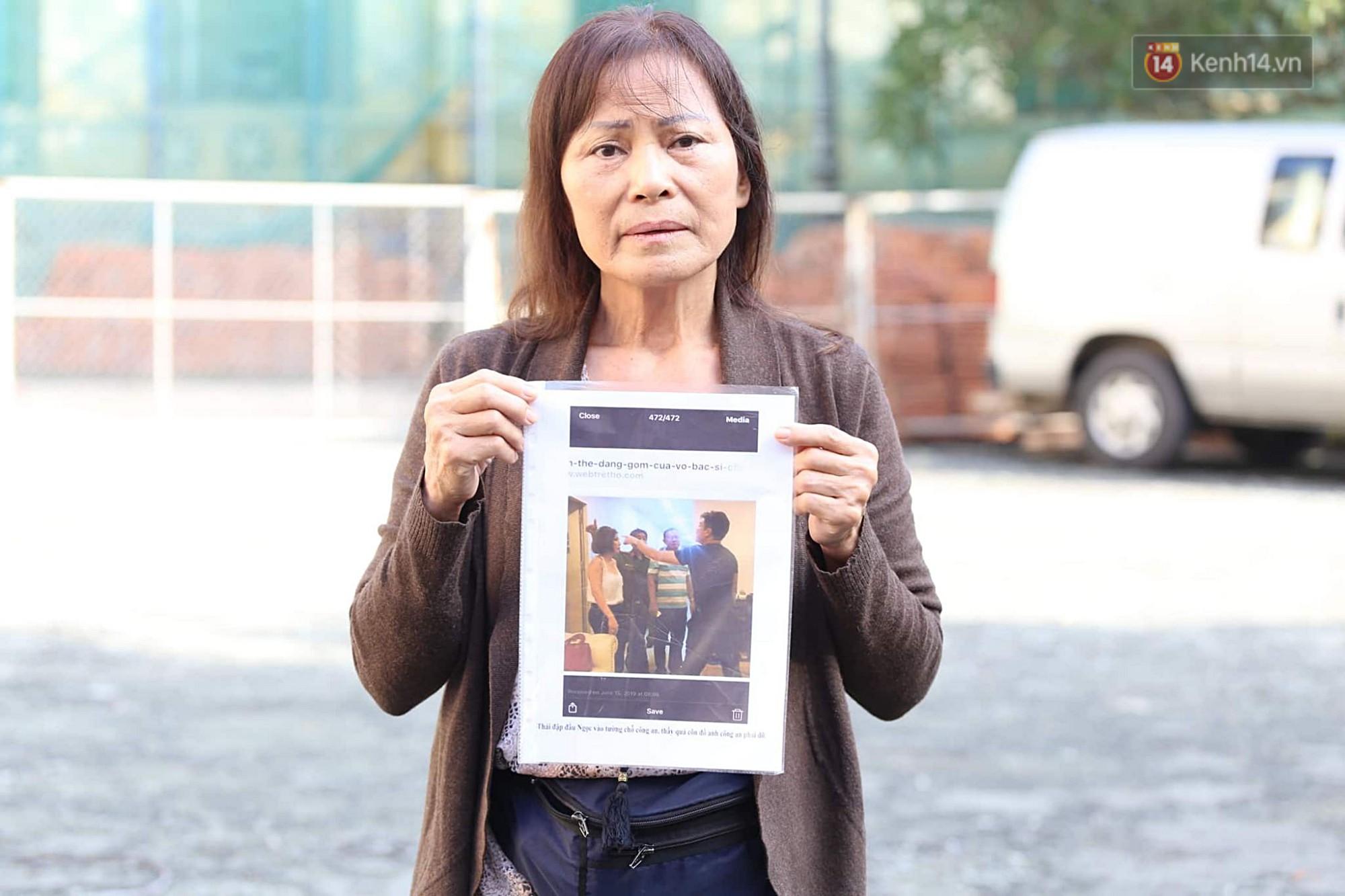 Bác sĩ Chiêm Quốc Thái và mẹ vợ đấu khẩu gay gắt trước phiên tòa xét xử vụ vợ bỏ 1 tỷ thuê giang hồ truy sát chồng-3