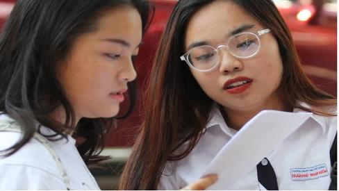 Thí sinh 'thở phào' với đề thi tiếng Anh kỳ thi THPT quốc gia 2019