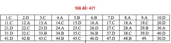 Đáp án thi môn Tiếng Anh THPT quốc gia 2019 (tất cả mã đề)-13