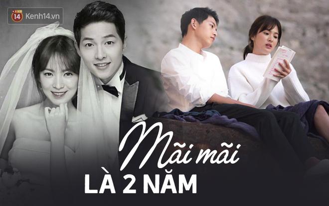 Mãi mãi là bao lâu? Hôn nhân của Song - Song đã khiến fan ngôn tình khóc nghẹn vì câu trả lời: Là 2 năm thôi!-3