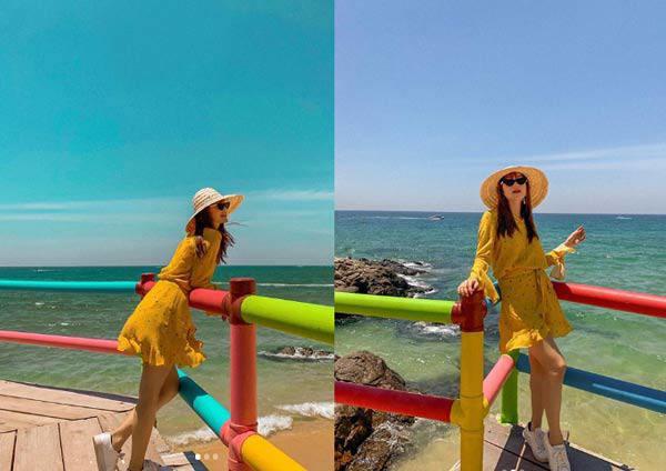 """Hồ Ngọc Hà và Minh Hằng cạnh tranh danh hiệu Nữ hoàng"""" màu mè nhất mùa hè này?-1"""