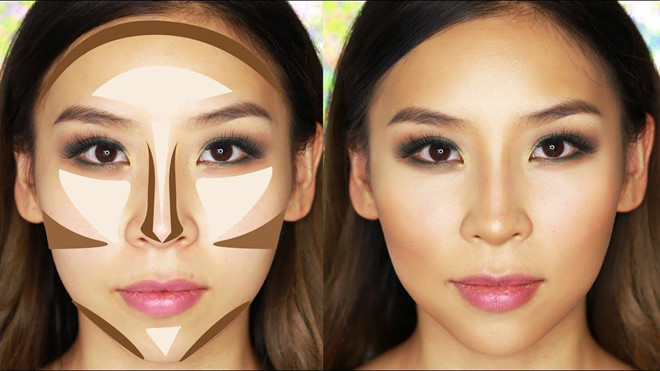 Nguyên tắc tạo khối chuẩn cho gương mặt góc cạnh và cá tính-6