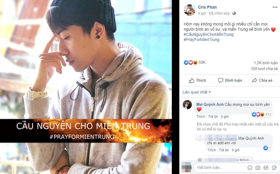 Vừa kết hôn đã bị hóng ngày ly dị, Cris Phan có cách đáp trả cực thông minh khiến fan tâm phục khẩu phục-1