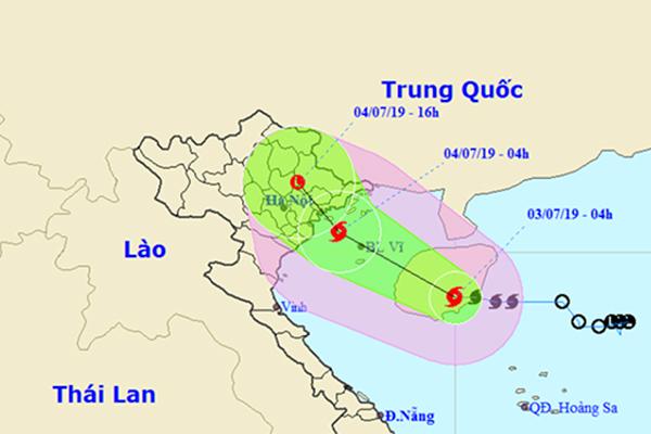 Bão số 2 sẽ đổ bộ vào Quảng Ninh đến Nam Định, mưa to khắp nơi-1