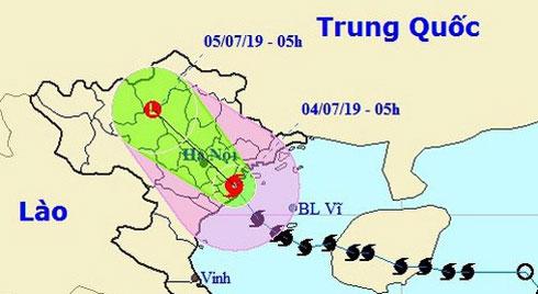 Bão số 2 giật cấp 11 đã đổ bộ vào đất liền các tỉnh từ Nam Định đến Hải Phòng, 2 người chết do sạt lở ở Thanh Hóa