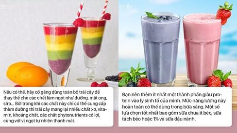 Uống sinh tố ngày hè, nhớ kỹ 5