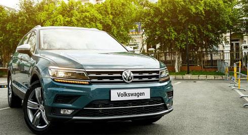 Cận cảnh Volkswagen Tiguan Allspace Luxury giá 1,85 tỷ đồng tại Việt Nam