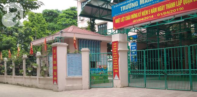 Hà Nội: Rơi bình nóng lạnh tại trường mầm non trúng đầu bé gái 4 tuổi-2