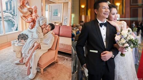 Đại gia Minh Nhựa mê vợ có tiếng nhưng Shark Hưng và chồng HH Thu Thảo cũng không kém về khoản yêu chiều bà xã