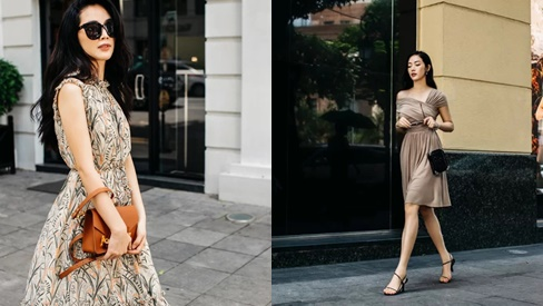 Mai Thanh Hà gợi ý chọn váy dạo phố