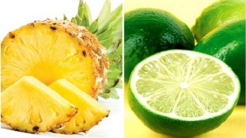 Mẹo đơn giản với chanh và dứa giúp giảm cân rõ rệt, tiêu mỡ tức thời