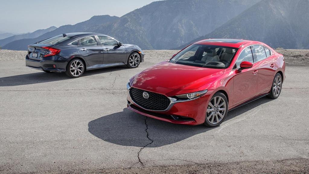 So sánh Honda Civic 2019 và Mazda3 2019: Cuộc đổi ngôi bất ngờ-1