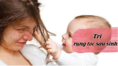 Nguyên nhân và cách trị rụng tóc ở phụ nữ sau sinh