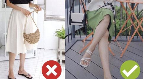 Không phải bộ đôi chân váy + giày dép nào cũng ăn ý với nhau, nhưng bạn diện 4 công thức này thì dứt khoát đẹp
