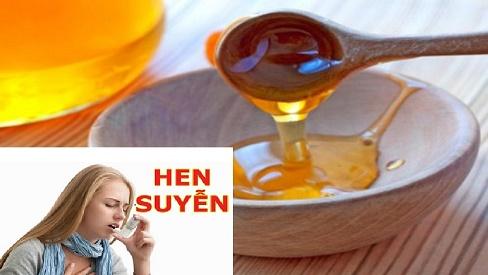 Tổng hợp 5 cách chữa bệnh hen suyễn bằng mật ong TẠI NHÀ