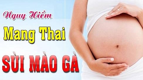 Cách phòng và điều trị bệnh sùi mào gà khi mang thai