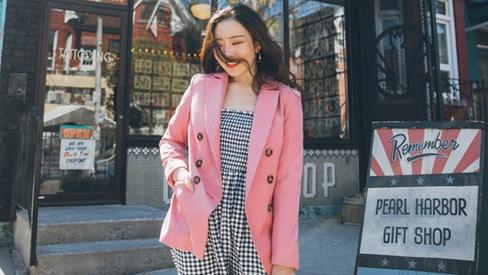 Học ngay cách mặc blazer vừa tôn dáng xinh mà vẫn thời thượng như gái Hàn