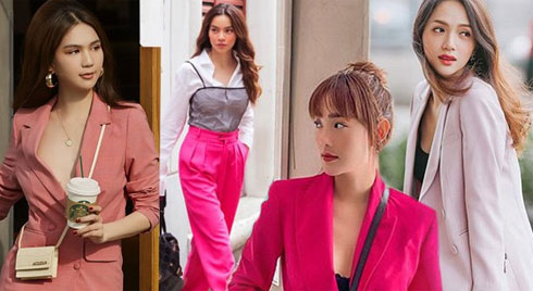Mặc đồ hồng luôn bị chê sến và quê, vậy mà mỹ nhân Việt vẫn diện đẹp miễn chê