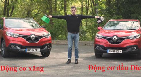 Nên chọn mua ô tô chạy xăng hay dầu?