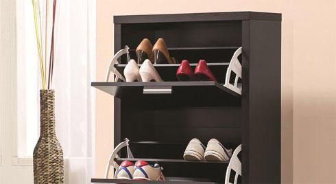 Phong thủy cho tủ giày: Đơn giản nhưng không thể bỏ qua