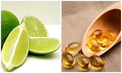 Sở hữu làn da trắng mịn với vitamin E-3
