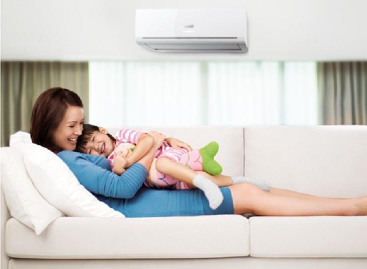 5 lưu ý sử dụng điều hòa cho trẻ sơ sinh vào mùa nóng-3