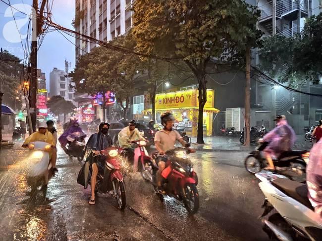 Bão số 4 đang di chuyển vào đất liền, Hà Nội mưa gió khủng khiếp, đã có 1 người chết do cây xanh đè trúng-2