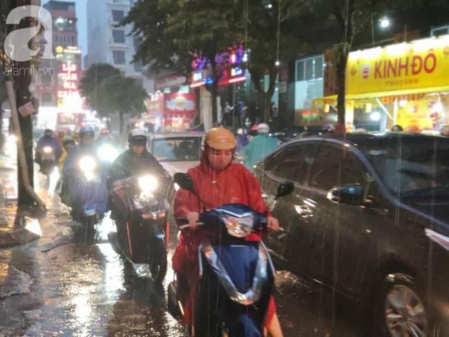 Bão số 4 đang di chuyển vào đất liền, Hà Nội mưa gió khủng khiếp, đã có 1 người chết do cây xanh đè trúng-3