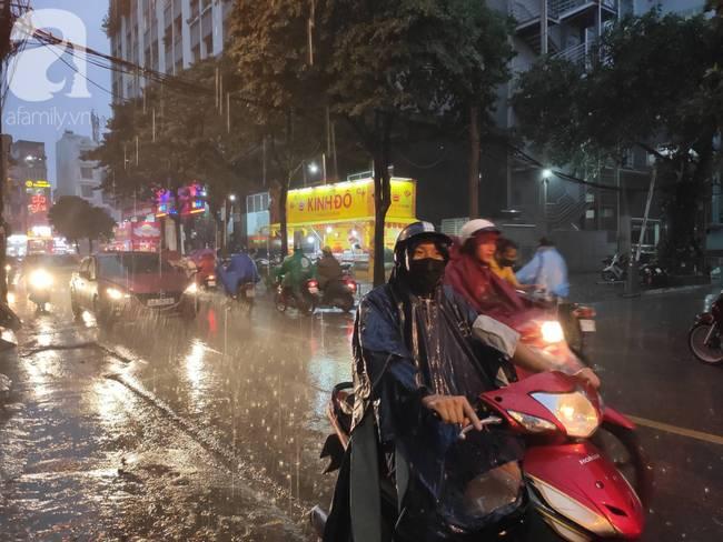 Bão số 4 đang di chuyển vào đất liền, Hà Nội mưa gió khủng khiếp, đã có 1 người chết do cây xanh đè trúng-5