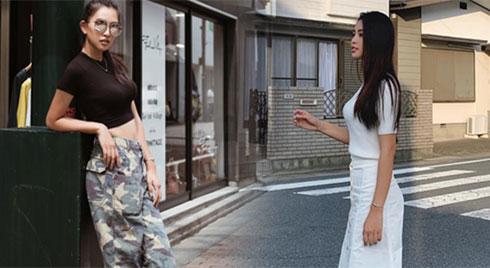 Hoa hậu Tiểu Vy vẫn toả sáng rực rỡ dù chỉ thích diện đồ trắng đen