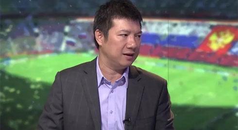 """Câu nói """"khiêm tốn"""" của BLV Quang Huy chiếm sóng MXH khi đội nhà cầm hòa tuyển Thái Lan ở trận mở màn vòng loại World Cup"""