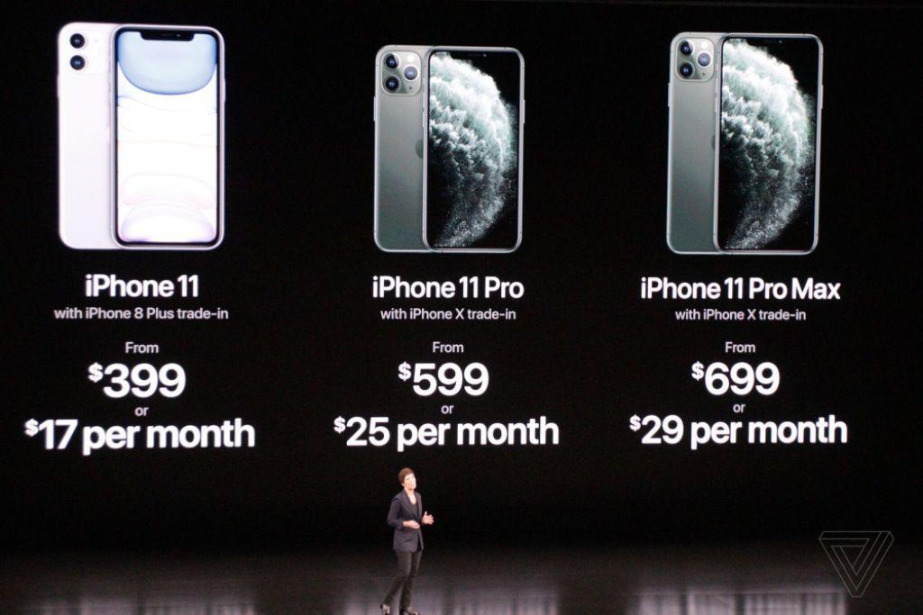 Apple ra mắt iPhone 11, giá từ 699 USD đến 1.099 USD-26