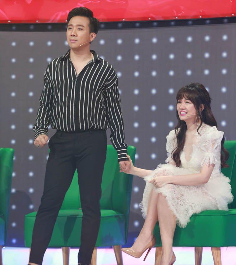 Chẳng cần độn giày, Trấn Thành vẫn vượt mặt Hari Won với loạt mẹo phối đồ hay ho-7