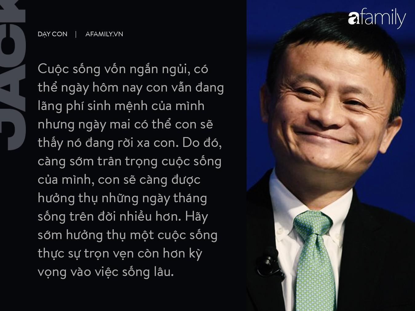 9 điều dạy con không thể thấu đáo hơn của  tỉ phú Jack Ma-3